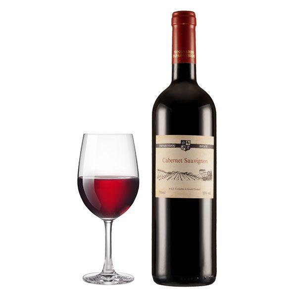 Κτήμα Παπαργυρίου Cabernet Sauvignon Ερυθρός Ποτήρι