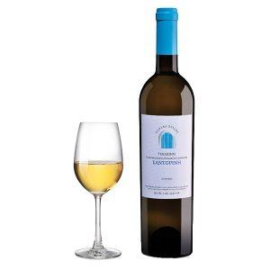 Κτήμα Τσέλεπου Κανάβα Χρυσού Σαντορίνη Ασύρτικο Λευκός 2016 Ποτήρι