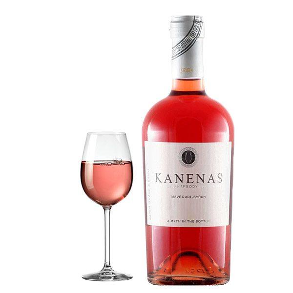 Οινοποιείο Τσάνταλη Kanenas Ροζέ 2016 Ποτήρι