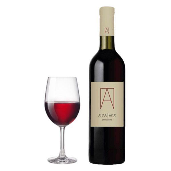 Οινοποιητική Oenops Wines Απλά Ερυθρός 2016 Ποτήρι