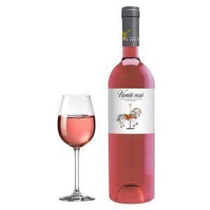 Ορεινοί Αμπελώνες Λαλίκου Variete Ροζέ 2016 Ποτήρι