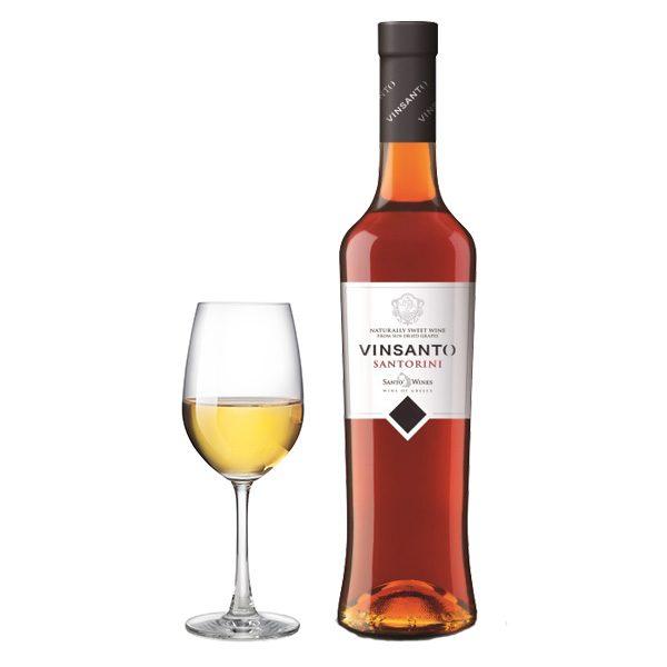 Santo Wines Vinsanto 500ml ποτήρι