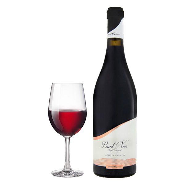 Κιντώνης Pinot Noir Ερυθρός ποτήρι