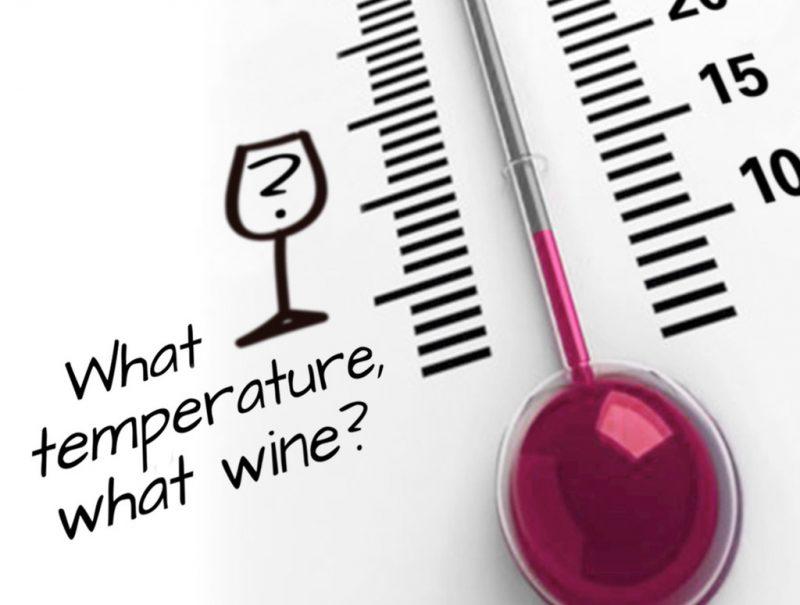 Θερμοκρασία σερβιρίσματος κρασιού