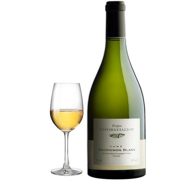Κτήμα Γεροβασιλείου Sauvignon Blanc Fumé 1.5L Magnum Λευκός Ποτήρι
