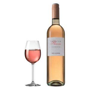Κυρ Γιάννη Παράγκα Ροζέ Flowers 750ml 2015 Ποτήρι