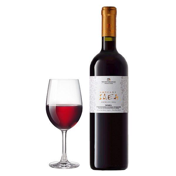 Μπαραφάκα Αμπέλου Ιδέα Αγιωργίτικο 750ml 2015 Ποτήρι
