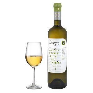 Ντούγκος Sauvignon Blanc Ροδίτης Bio 750ml 2016 Ποτήρι