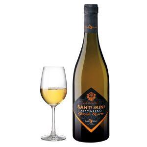 Santo Wines Ασύρτικο Grande Reserve 2014 Ποτήρι