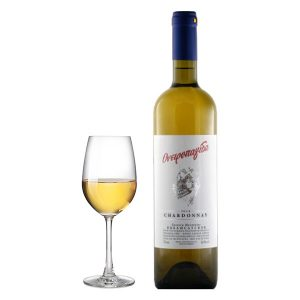 Βασίλης Κανιάρης Ονειροπαγίδα Chardonnay Λευκός 2016 Ποτήρι