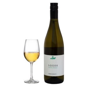 Ζαφειράκη Λόγος Chardonnay 750ml 2016 Ποτήρι