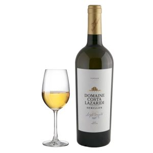 Κτήμα Κώστα Λαζαρίδη Semillon Costa Lazaridi 2016 Ποτήρι