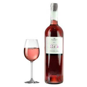 Κτήμα Μπαραφάκα Αμπέλου Ιδέα Ροζέ 2011 Ποτήρι