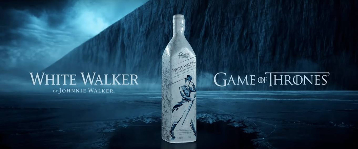 Johnnie Walker White Game Of Thrones