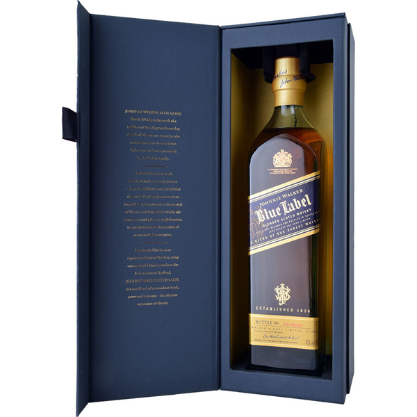 Johnnie Walker Blue Label Box Ουίσκι 700ml